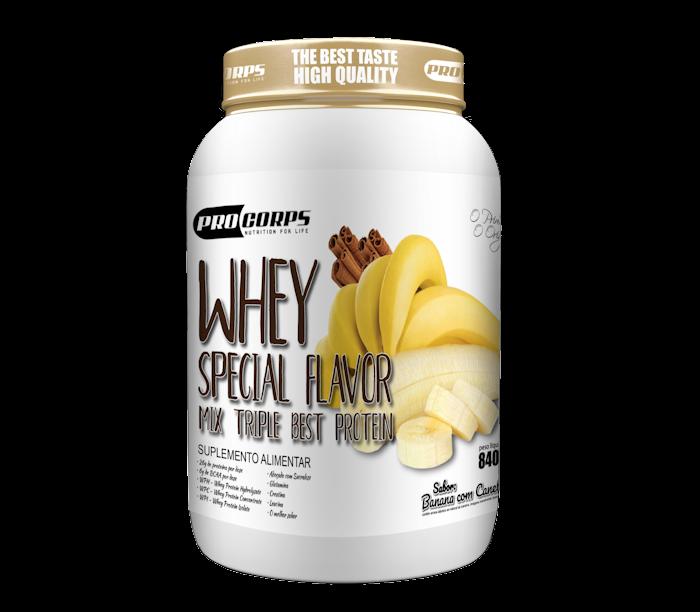 Whey Special Flavor - Banana Flambada com Canela