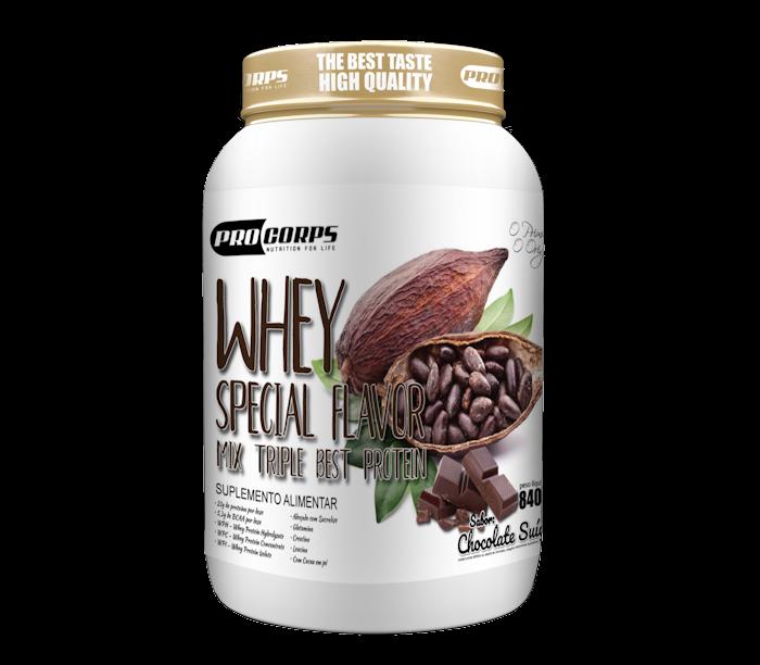 Whey Special Flavor - Chocolate Suíço