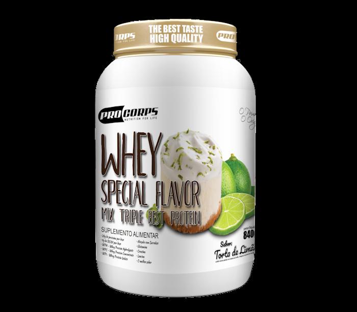 Whey Special Flavor - Creme de Baunilha